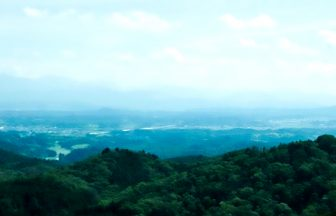 甲南 岩尾山頂上からの眺め